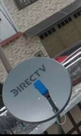 Se instala antenas de DirecTV