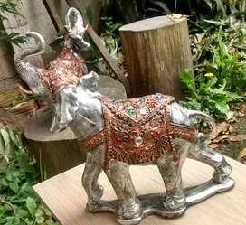 Elefante en yeso