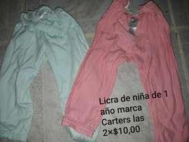 Licra Y Vestidos de Niña