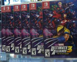 Marvel Ultimate Alliance 3 Nintendo Switch Nuevo Sellado Stock
