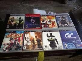 Estoy vendiendo juegos de play station 3