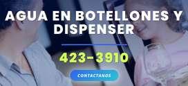 DIstribuidora Herculina, agua en botellon, soda en sifon, dispenser San Juan