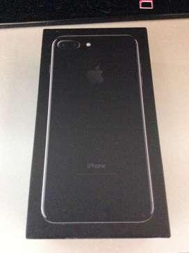 Vendo iphone 7 plus jet black 128gb libre