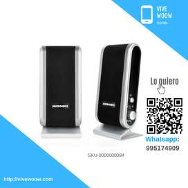 Parlantes Benneton  2.0  Mod. Mic S320+ Marc. Micronics