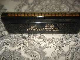 Harmonica Antigua Hero Made In China Buen Sonido No Envio