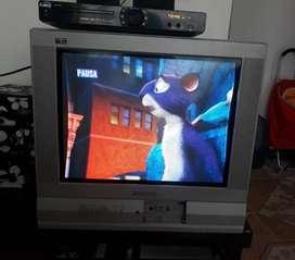 Televisor grande Panasonic sin control