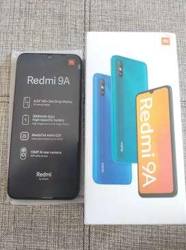 Redmi 9A en caja