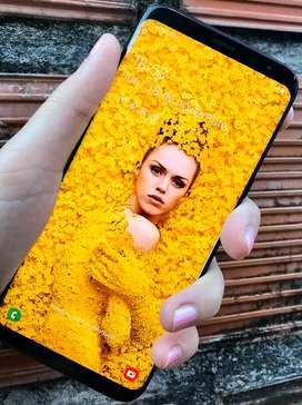 SAMSUNG GALAXY S8 PLUS COMO NUEVOO COMPLETO LIBRE 64GB