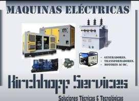 MANTENIMIENTO DE PLANTAS ELECTRICAS - MANTENIMIENTO DE MOTORES ELECTRICOS - MANTENIMIENTO DE TRANSFORMADORES