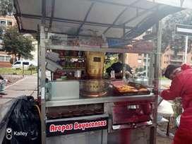 Greca cafe express, arepas boyacenses,horno gratinador,plancha,carro comidas rapidas