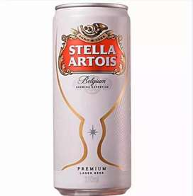 OPORTUNIDAD Mayorista!! Liquido hoy Cerveza Stella lata x 473cc