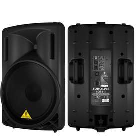 Cabina Activa Behringer B215d Eurolive 550w B-215d Profesional