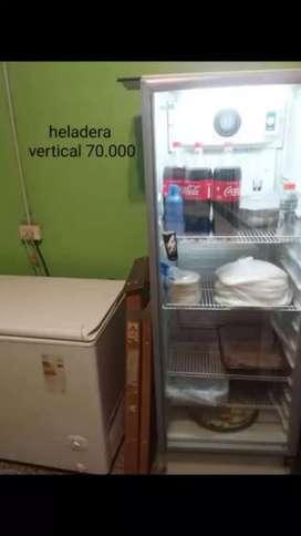 Heladera vertical