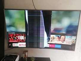 Para repuestos smart tv curvo de 55 pulgadas