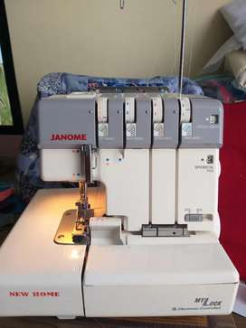 Fileteadora familiar JANOME 634D