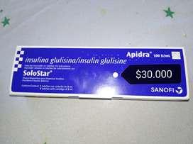Apidra de sanofi para diabeticos
