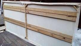 Lienzo rectangular con bastidor grande