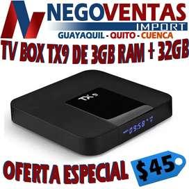TV BOX TX9 DE 3RAM + 32GB