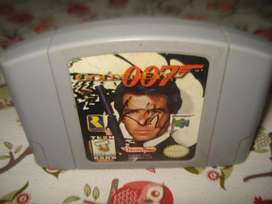 007 Goldeneye Nintendo 64 Fisico Cartucho Funcionando.