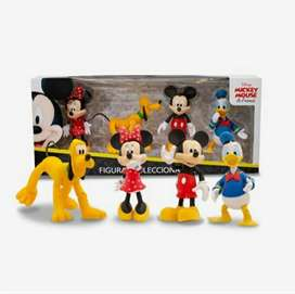 SET DE FAMILIA DISNEY Y SUS AMIGOS MICKEY MOUSE & FRIENDS