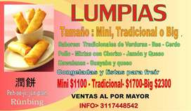 LUMPIAS _ ROLLITOS CHINOS