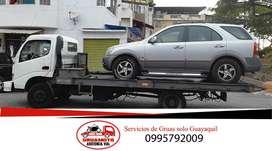 plataforma autocargable servicio de gruas en guayaquil para carros autos vehiculos winchas winches