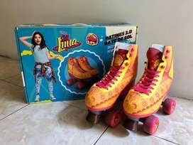 Se venden patines de Soy Luna talla 36