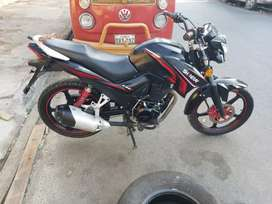 Vendo moto shineray 200 la vendo por que no la uso