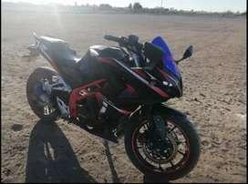 Moto pistera 200 de 6 cambios