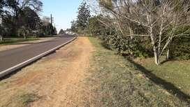 Vendo/Permuto terreno sobre ruta en Santa Rosa Corrientes de 25x120