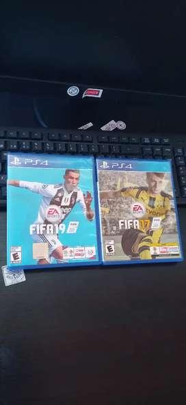FIFA 17 Y FIFA 19