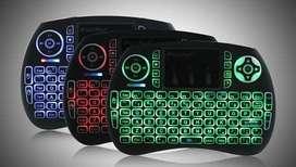 Teclado Mouse con luz Inalámbrico Tablet Android Smart Tv Xbox Led ALMACEN MULTIREBAJAS