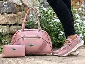Combo puma incluye bolso, tennis, billetera