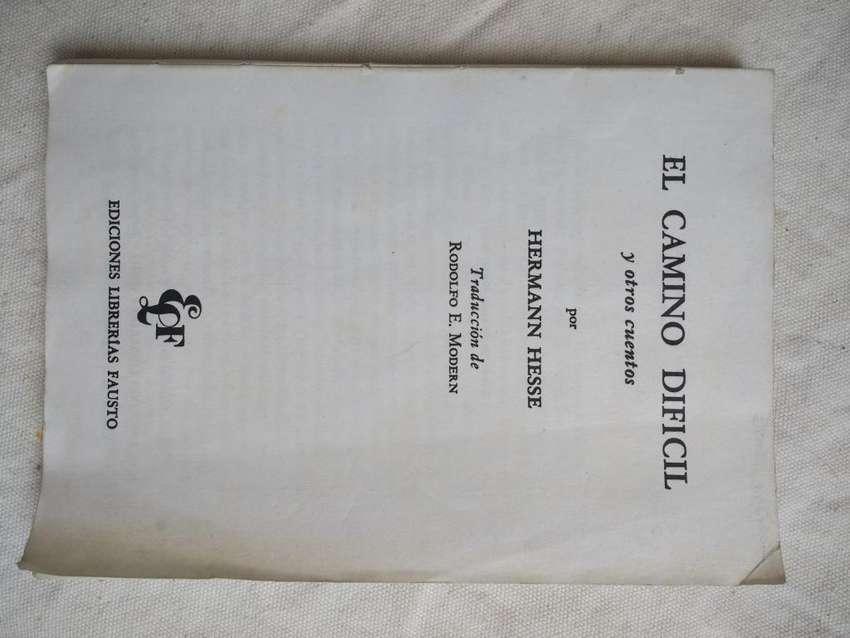 El Camino Difícil y otros cuentos Herman Hesse Ed. Librerías Fausto 0