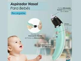 Aspirador nasal eléctrico