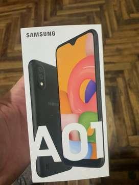 Samsung A01 libre de todo nuevo sellado 32 gb listo para usar