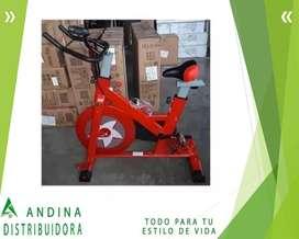 Bicicleta Estática Panel Digital Incluye Plan de Asistencia 6/1
