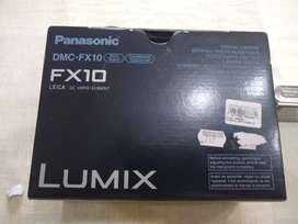 Cámara Panasonic Lumix. Lente Leica