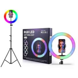 Aro de luz led 20cm RGB