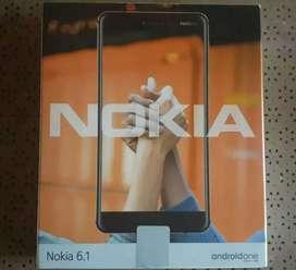 Vendo celular Nokia 6.1 de paquete