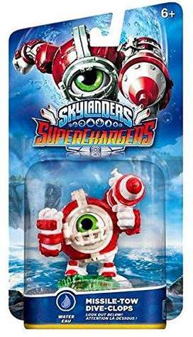 skylander supercharger tipo agua combo