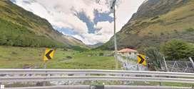 70 hectareas Abundante agua Al pie de la carretero 27km de Cuenca