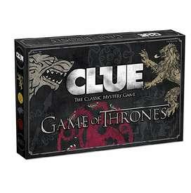 Clue juego de Mesa Juego de Tronos GOT GAME OF THRONES