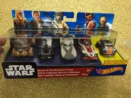 Hotwheels Star Wars Heroes de La Resistencia PARA COLECCIONISTAS hot wheels
