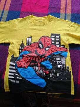 Camiseta de Spider-man