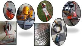 Regla vibratoria GX vibradores para concreto/Mezcladoras CR andamio colgante