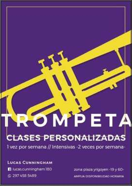 CLASES PERSONALIZADAS DE TROMPETA Y MUSICA