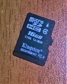 Memoria Sd (micro Sd) KINGSTON 16 Gb