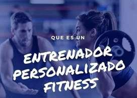 Soy entrenador físico y nutrición deportiba