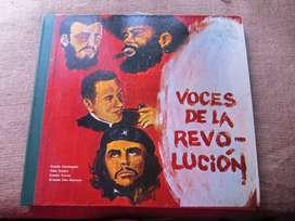 """UNICA ! ESPECTACULAR ALBUM LP 33 1/3 RPM""""VOCES DE LA REVOLUCION""""conocedores, estudiosos, historiadores, coleccionistas !"""